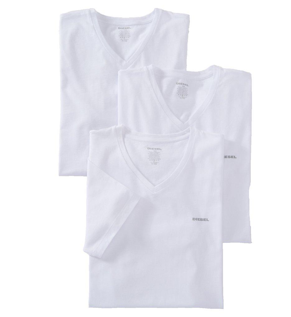 Diesel SPDMAALW Essentials Umtee Jake V Neck T-Shirt - 3 Pack