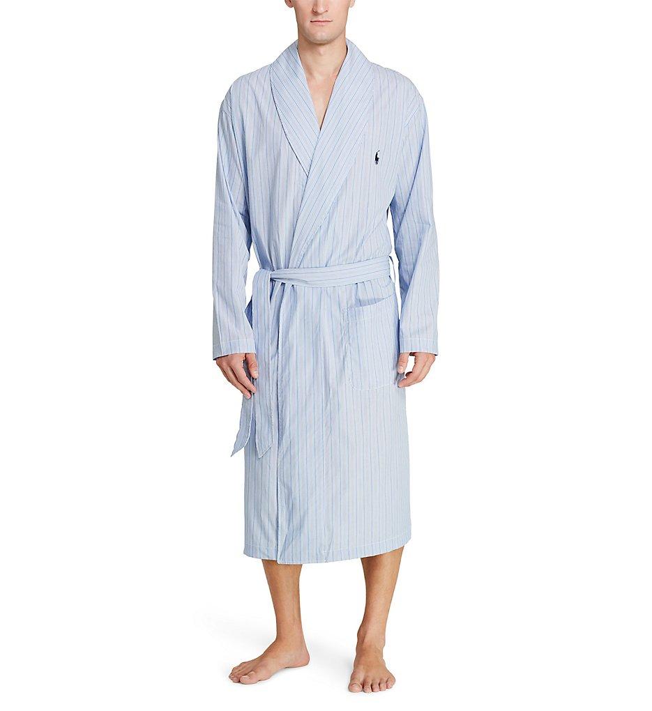 polo ralph lauren r171 birdseye 100 cotton woven robe ebay. Black Bedroom Furniture Sets. Home Design Ideas