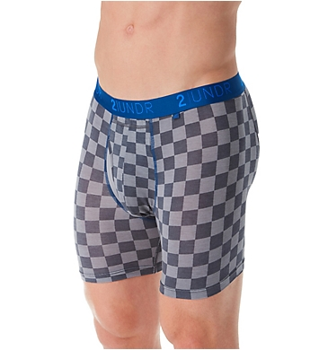 2UNDR Swing Shift Modal 6 Inch Printed Boxer Brief