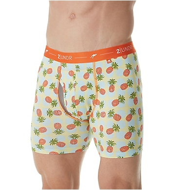 2UNDR Day Shift 6 Inch Tropical Boxer Brief