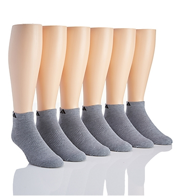 Adidas Athletic Low Cut Socks - 6 Pack