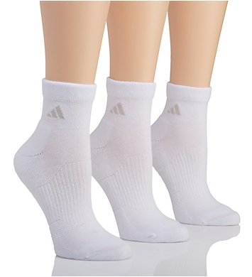 Adidas Cushioned Variegated Quarter Sock - 3 Pack