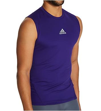 Adidas Alphaskin Sleeveless Compression Shirt