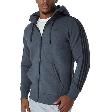 Adidas Essentials 3 Stripes Fleece Hoody