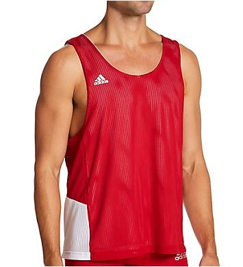 Adidas Mesh Pinnie Reversible Sports Tank