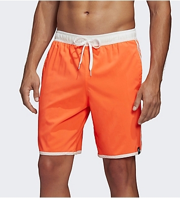 Adidas 3 Stripe CLX 19 Inch Swim Short