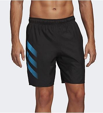 Adidas Bold 3 Stripe CLX 19 Inch Swim Short