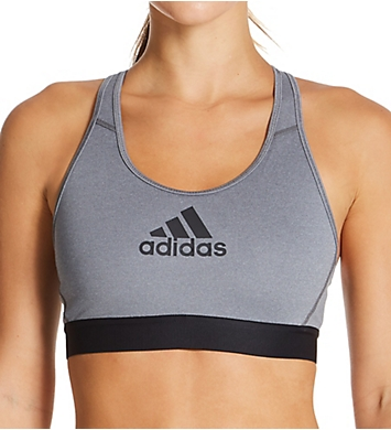 Adidas Alphaskin Medium Impact Sports Bra