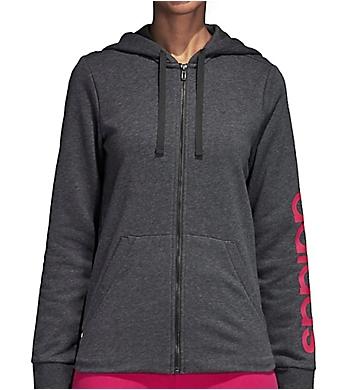 Adidas Essential Full Zip Hoodie Jacket