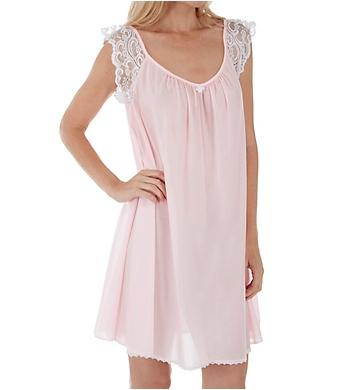 Amanda Rich Lace Cap Knee Length Gown