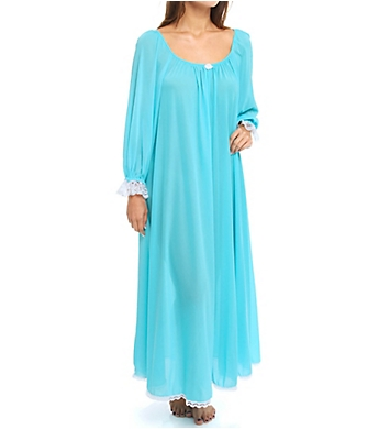 Amanda Rich Long Sleeve Long Gown