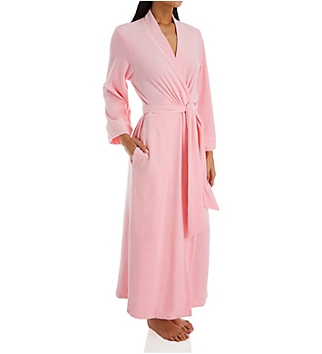 Amanda Rich Velour Wrap Robe