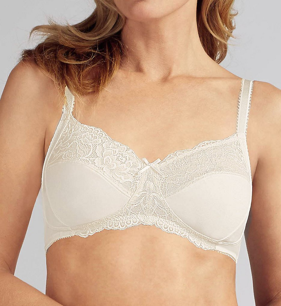 Amoena >> Amoena 43910 Lilly Soft Cup Bra (Off White 32A)