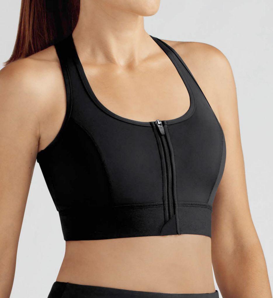 Amoena Zipper Front Medium Impact Sports Bra
