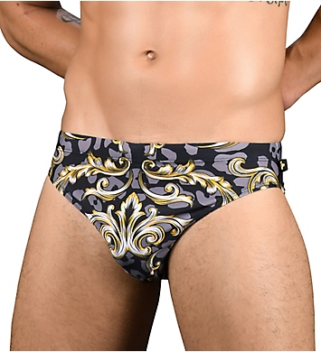 Andrew Christian Icon Print Bikini Swim Brief