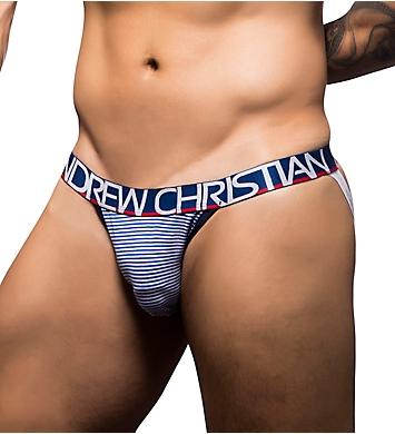 Andrew Christian Nautical Stripe Jock