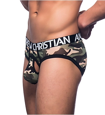Andrew Christian Almost Naked Camo Mesh Brief