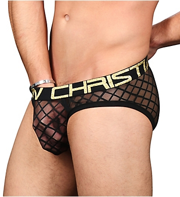 Andrew Christian Almost Naked Lattice Lace Sheer Brief