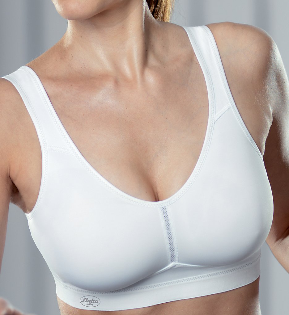 Anita - Anita 5521 Active Light and Firm Sports Bra (White 34F)