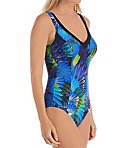 Peacock Bay Gabriella Wireless One Piece Swimsuit