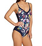 French Blue Summer Mabela One Piece Swimsuit