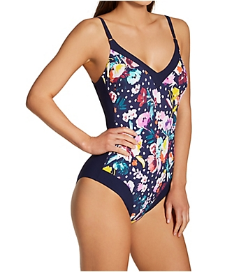 Anita French Blue Summer Mabela One Piece Swimsuit