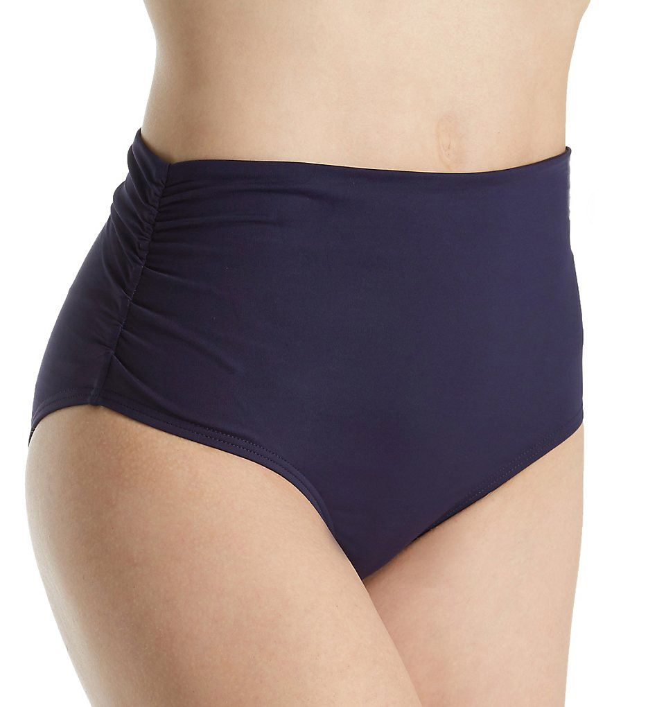 Anne Cole Live in Color Fold Brief Swim Bottom