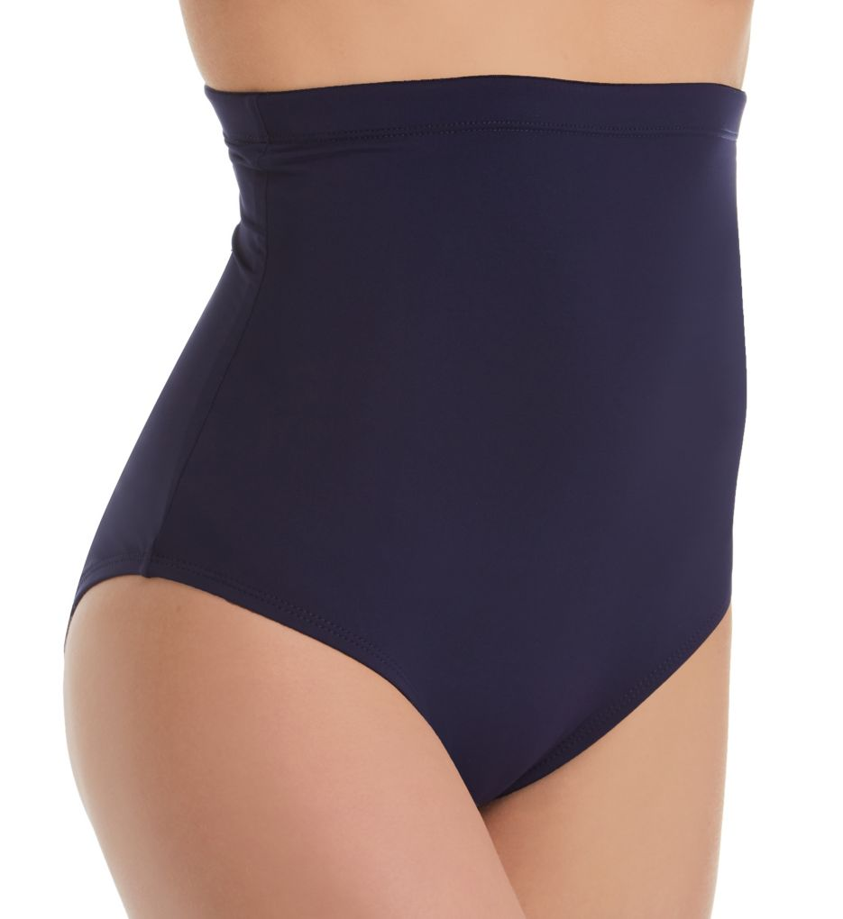 Anne Cole Live In Color High Waist Shaping Swim Bottom