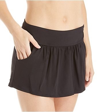 Anne Cole Live In Color Pocketed Skirted Brief Swim Bottom