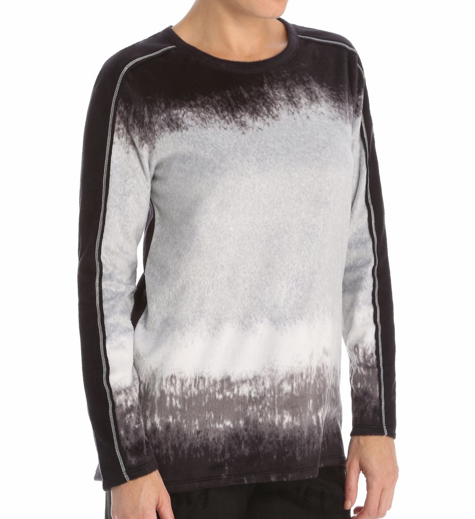 Anne Klein Luxe Lounge Long Sleeve Top