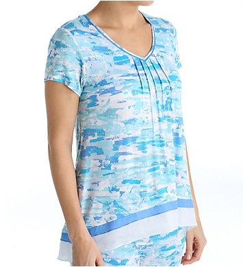 Anne Klein Montauk Short Sleeve Top