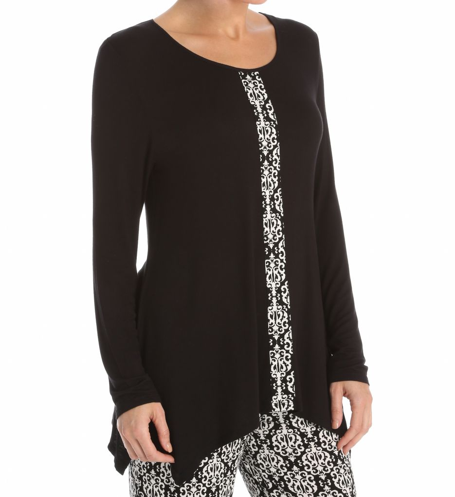 Anne Klein Holiday Luxe Long Sleeve Top