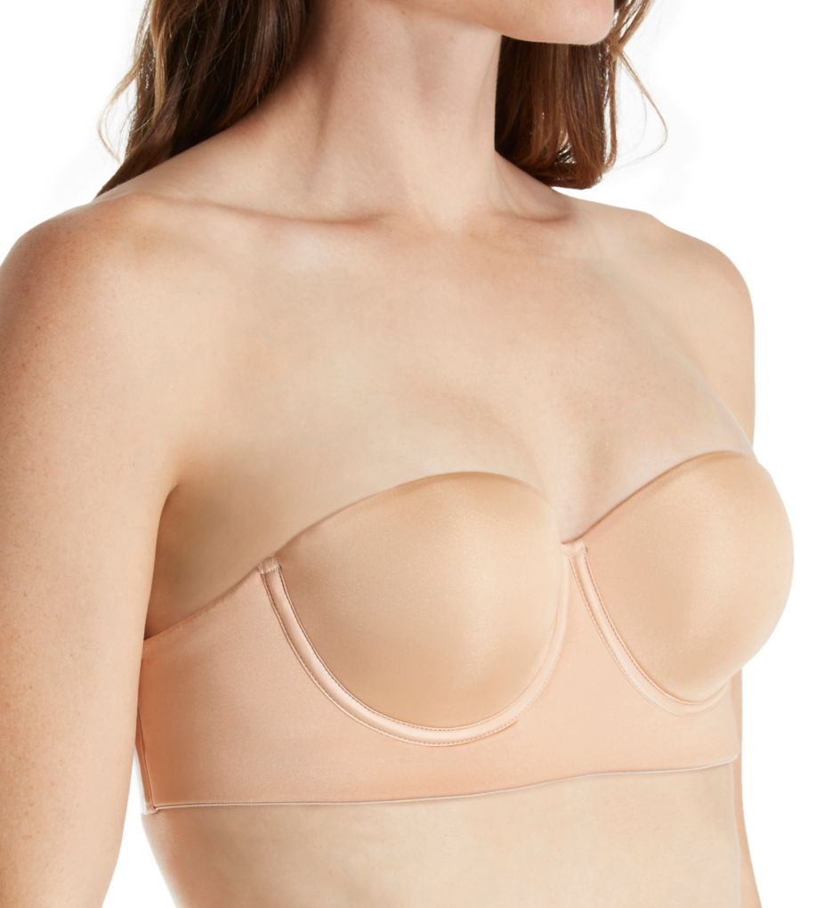 Annette Strapless Bra with Clear Back
