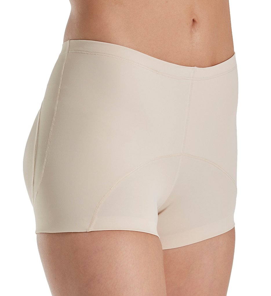 Annette >> Annette 17520 Red Label Firm Control Rear Lift Boyshort (Nude XS)
