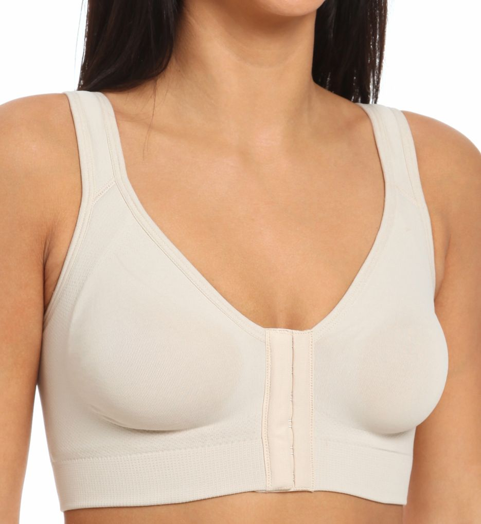Annette Renolife Post-Surgical Soft Cup Wide Back Bra