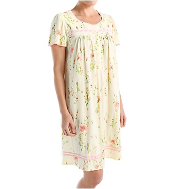 Aria Sunshine Short Sleeve Short Gown