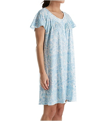 Aria Cotton Jersey Short Sleeve Short Nightgown