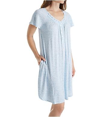 Aria Medallion Short Sleeve Short Nightgown