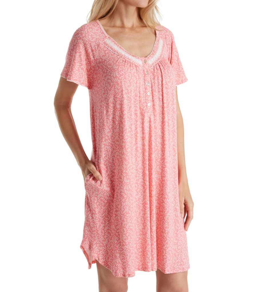 Aria Spring Short Sleeve Nightgown