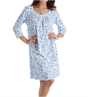 Aria Ditsy 3/4 Sleeve Short Nightgown