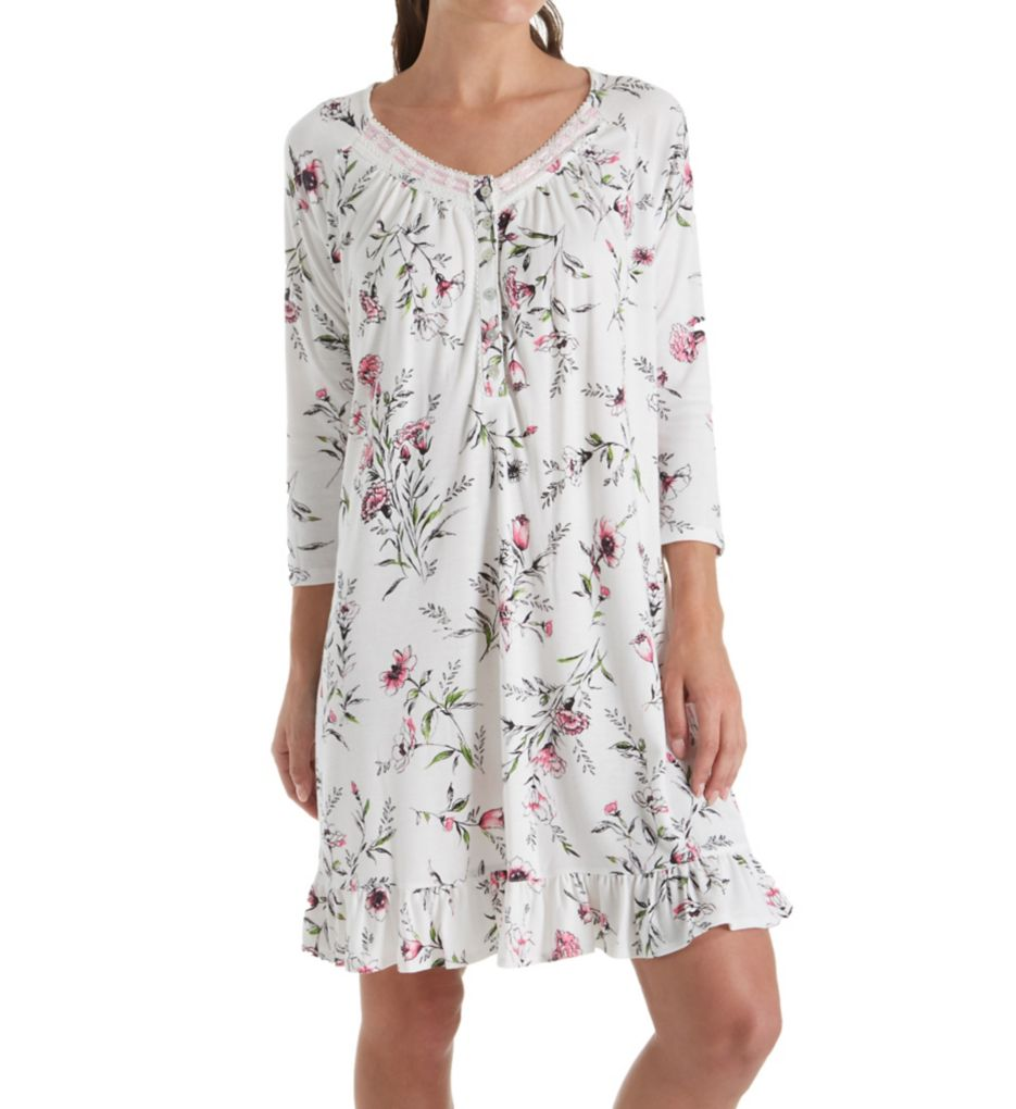 Aria Long Sleeve Short Nightgown