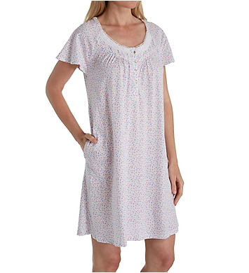 Aria Lavender Dream Short Sleeve Short Nightgown