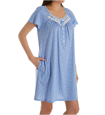 Aria Peri Day Jersey Short Sleeve Short Gown