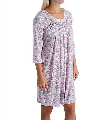 Aria Pink Passion 3/4 Sleeve Short Gown