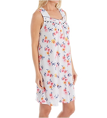Aria Spring Floral Sleeveless Short Gown