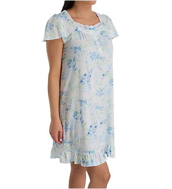 Aria Spring Breeze Short Sleeve Short Gown