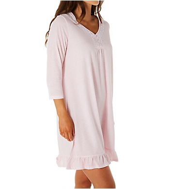 Aria Pink Paradise 3/4 Sleeve Short Gown