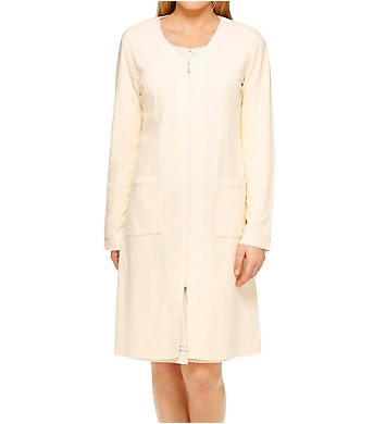 Aria Horizon Long Sleeve Short Zip Robe