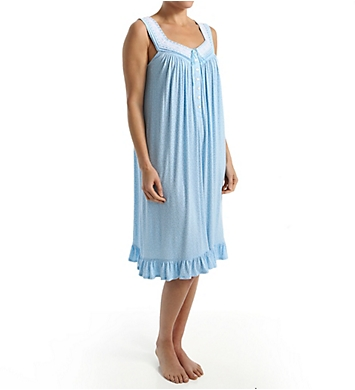 Aria Blues Sleeveless Short Nightgown