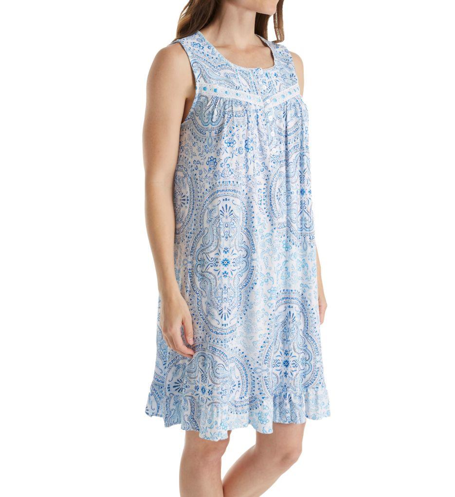 Aria Medallion Short Sleeveless Nightgown